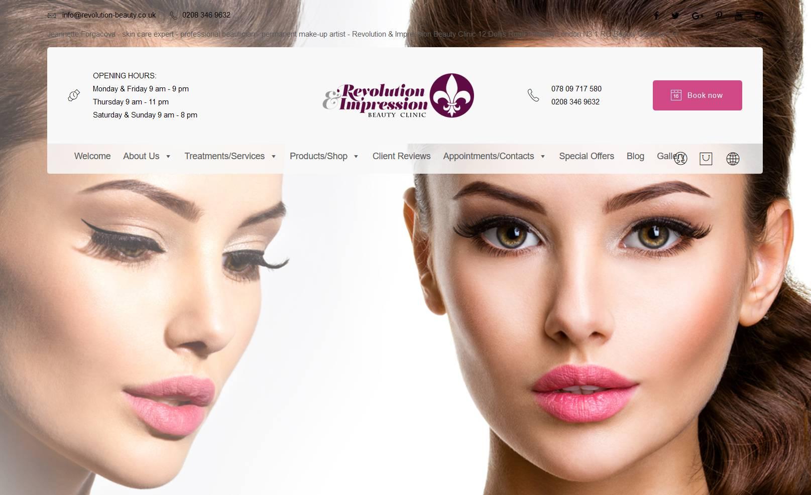 Beauty Clinic Banner Image 3 Hubert Creative Studio